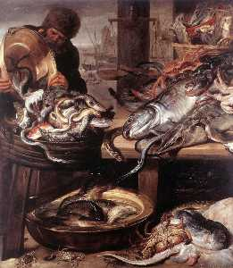 Frans Snyders - The Fishmonger