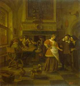 Jan Steen - Tavern Scene
