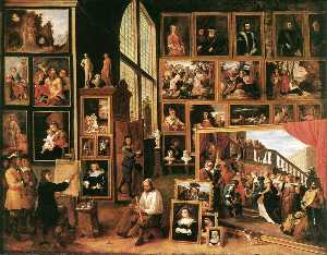 David The Younger Teniers - The Gallery of Archduke L..