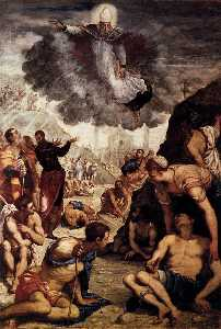 Tintoretto (Jacopo Comin) - The Miracle of St Augustine