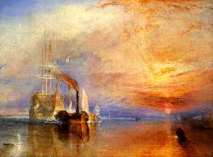 William Turner - The 'Fighting Temeraire' ..