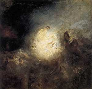 William Turner - Undine Giving the Ring to..