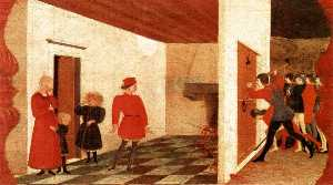 Paolo Uccello - Miracle of the Desecrated..