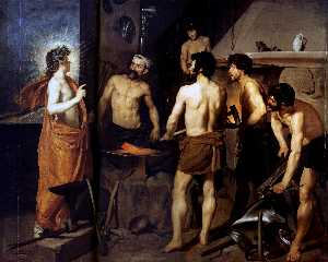 Diego Velazquez - The Forge of Vulcan