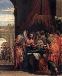 Paolo Veronese - Raising of the Daughter o..