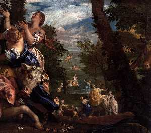 Paolo Veronese - The Rape of Europa (detail)