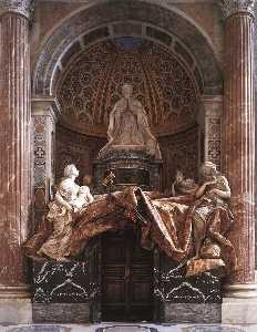 Gian Lorenzo Bernini - Tomb of Pope Alexander (C..