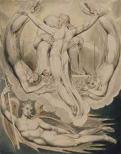 William Blake - Christ as the Redeemer of Man