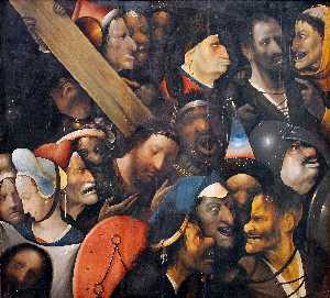 Hieronymus Bosch - Christ Carrying the Cross..