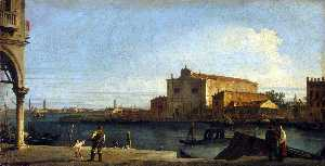 Giovanni Antonio Canal (C.. - View of San Giovanni dei ..