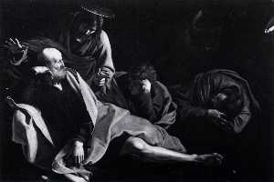 Caravaggio (Michelangelo Merisi) - Christ in the Garden