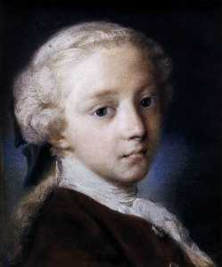 Rosalba Carriera - Portrait of a Boy