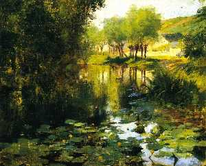 Willard Leroy Metcalf - The Lily Pond