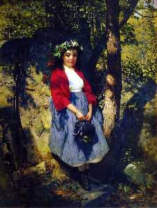 John George Brown - The Little Queen of the Woods