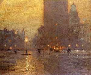 Lowell Birge Harrison - Madison Square