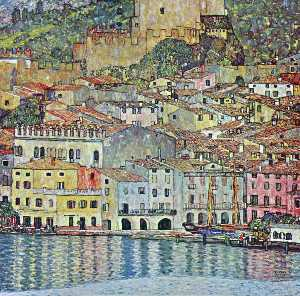 Gustav Klimt - Malcesine on Lake Garda