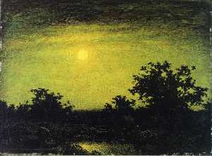 Ralph Albert Blakelock - Moonlight