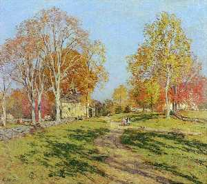 Willard Leroy Metcalf - Morning Shadows