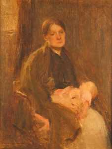 Walter Frederick Osborne - Mother and Child