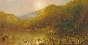 Ralph Albert Blakelock - Mountain Lake