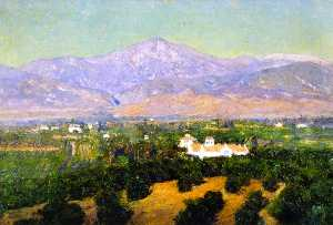 Theodore Clement Steele - Mount San Bernardino, from Smiley-s Heights, Redlands