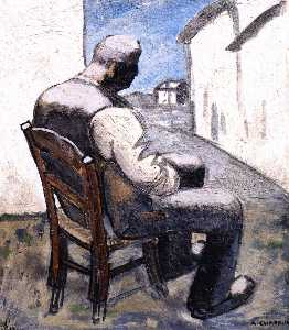 Auguste Chabaud - Man Sitting