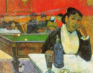 Paul Gauguin - NIght Cafe in Arles (Mada..