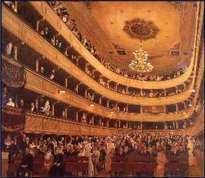 Gustav Klimt - The Old Burgtheater