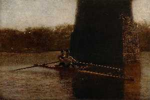 Thomas Eakins - The Pair Oared Shell