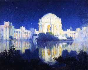 Colin Campbell Cooper - Palace of Fine Arts, San Francisco