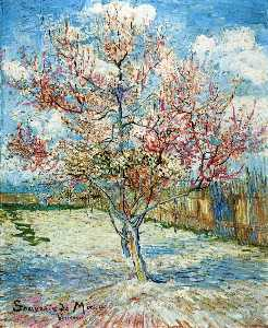 Vincent Van Gogh - Peach Trees in Blossom