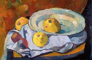 Paul Serusier - Plate of Apples