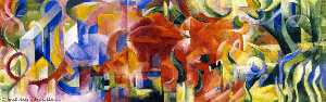 Franz Marc - Playing Forms