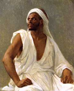 Alexandre Cabanel - Portrait of an Arab