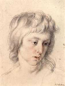 Peter Paul Rubens - Portrait of boy