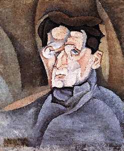 Juan Gris - Portrait of Maurice Rayna..