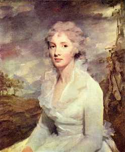 Henry Raeburn - Portrait of Ms. Eleanor Urquhart