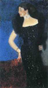 Gustav Klimt - Portrait of Rose von Rosthorn-Friedmann