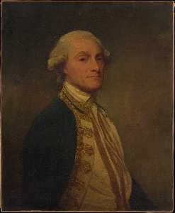 George Romney - Portrait of Sir Chaloner ..