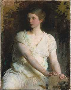Abbott Handerson Thayer - Portrait of a woman