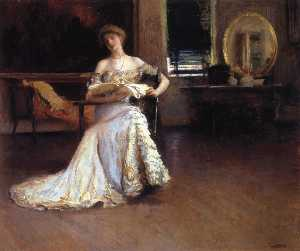 Edmund Charles Tarbell - Quiet Afternoon (also kno..