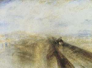 William Turner - Rail, Steam and Speed - t..