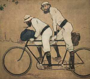 Ramon Casas Carbó - Ramon Casas and Pere Rome..