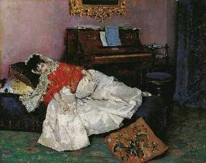 Raimundo De Madrazo Y Garreta - Reading