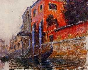 Claude Monet - The Red House