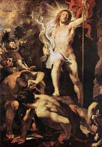 Peter Paul Rubens - The Resurrection of Christ (central panel)
