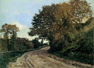 Claude Monet - Road to the Farm at Saint Simeon