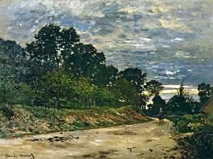 Claude Monet - Road to Saint Simeon