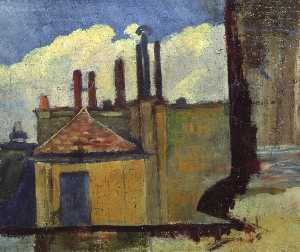 Paul Serusier - Roof Tops in Paris
