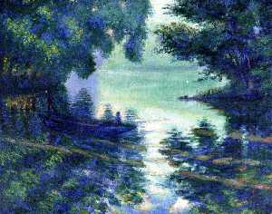 Theodore Earl Butler - The Seine near Giverny